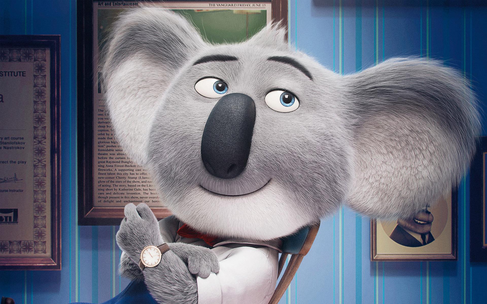 Бастер луна поют анимации. обои скачать