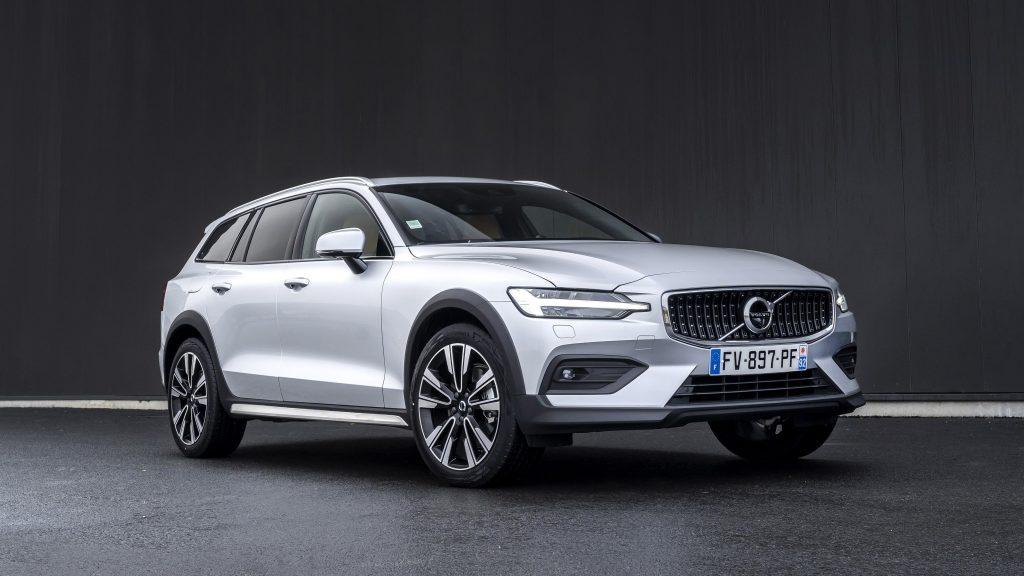 Volvo v60 b4 cross country 2021 автомобили обои скачать