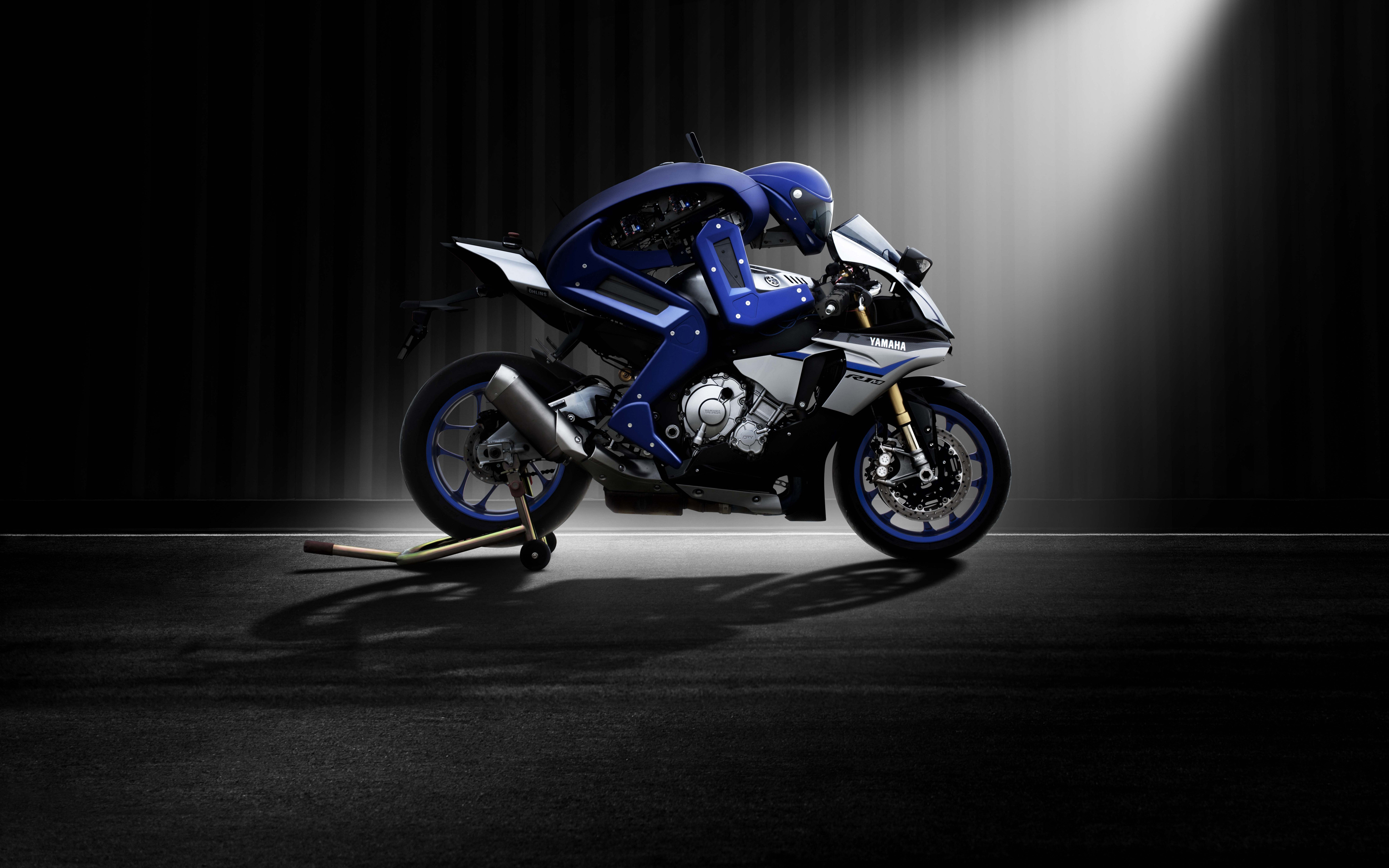 Yamaha motobot обои скачать