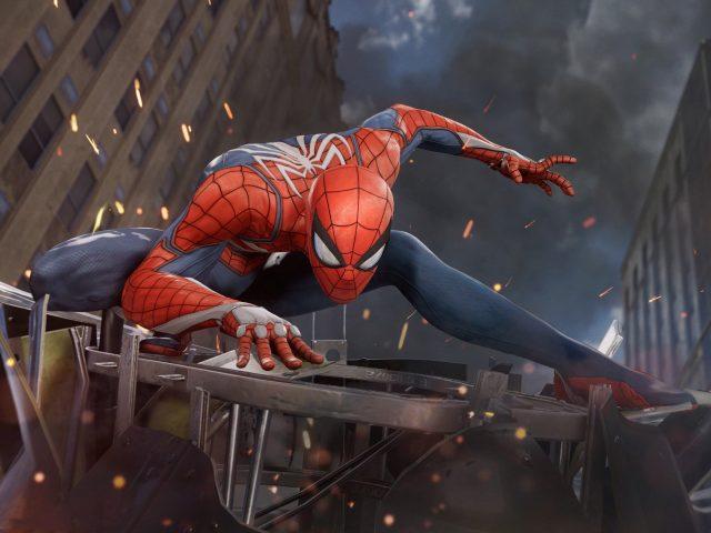 Человек-паук PS4 E3