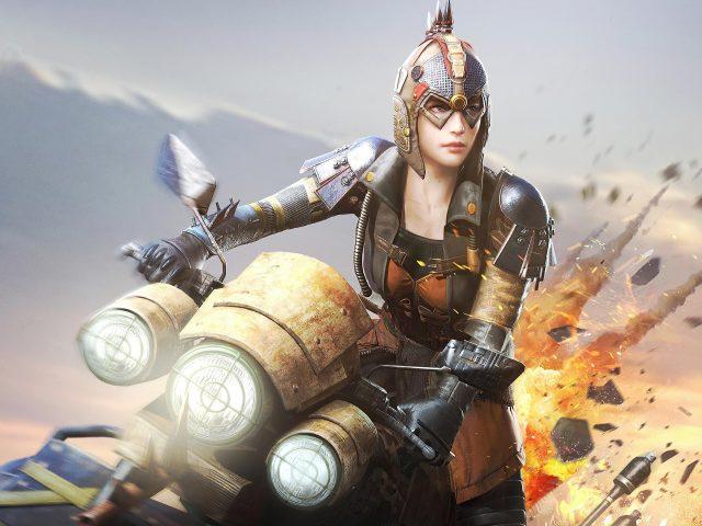 Playerunknown's battlegrounds woman warrior games