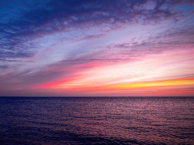 Восход пейзаж