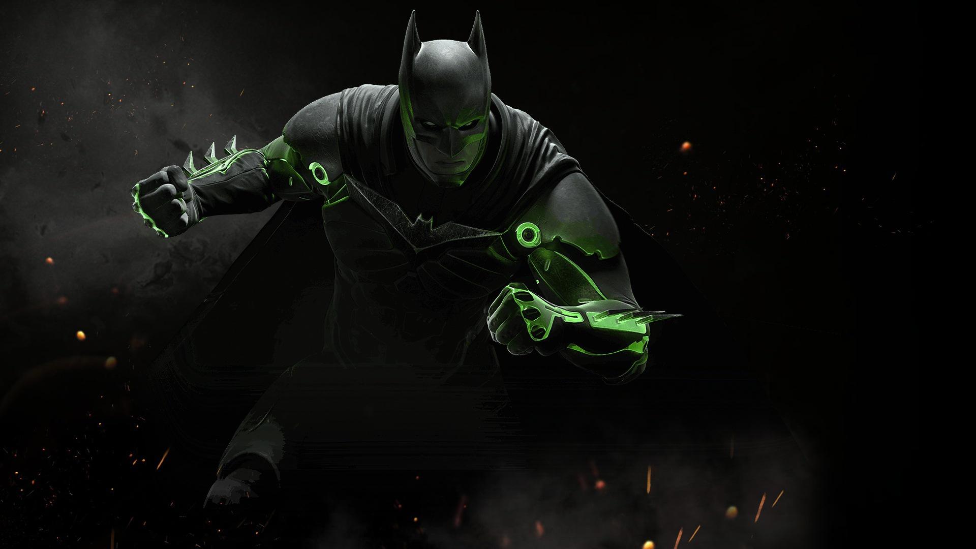 Бэтмен в несправедливости 2. обои скачать
