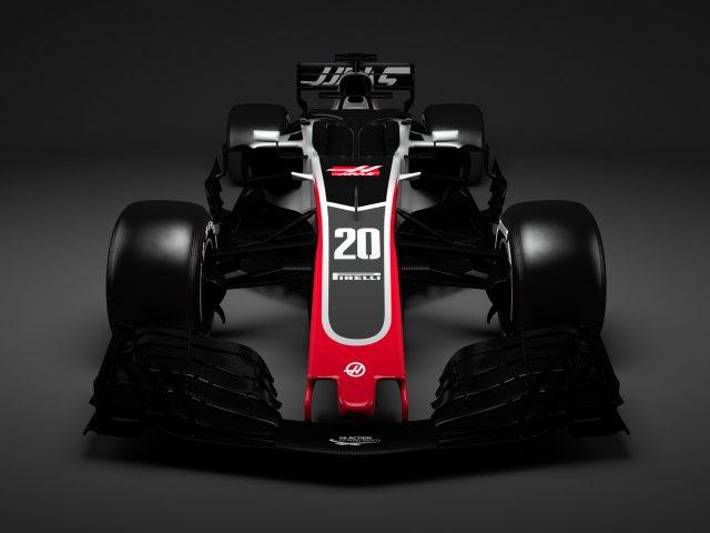 Автомобиль Формулы 1 haas