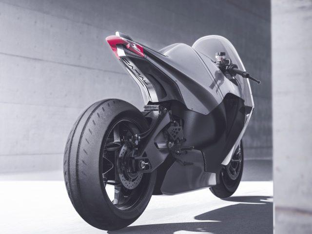 Верблюд жирным электрический мотоцикл суперспорт.