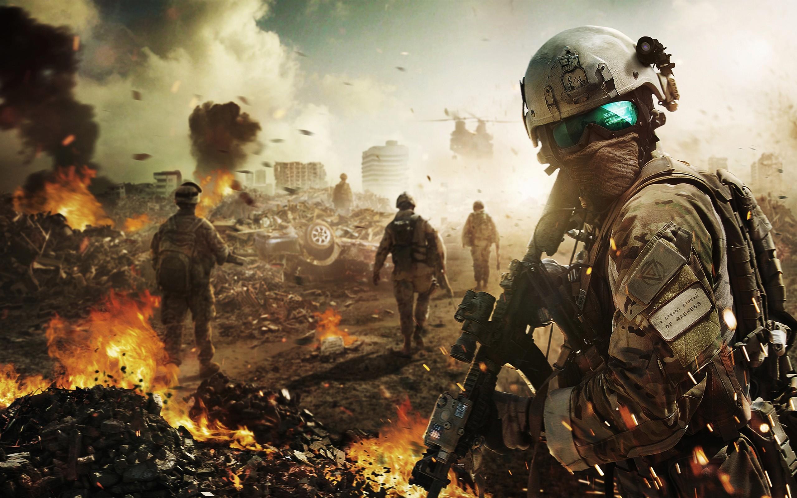 Ghost Recon, Future Soldier, Tom Clancy's, солдаты обои скачать