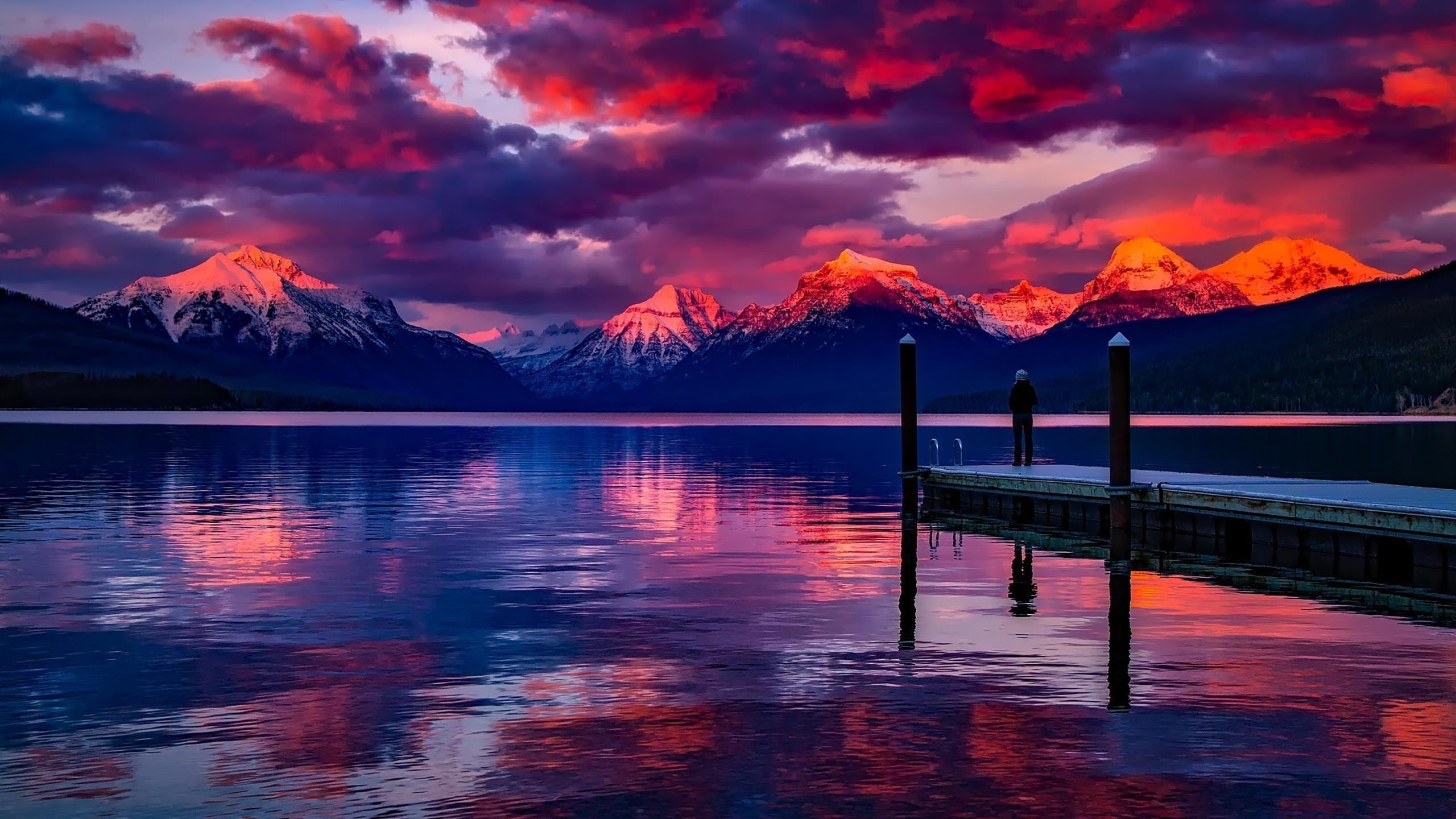 Спокойный и мирный пейзаж обои скачать