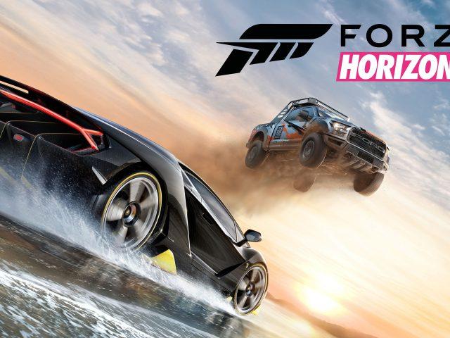 Горизонт игры Forza 3 4к