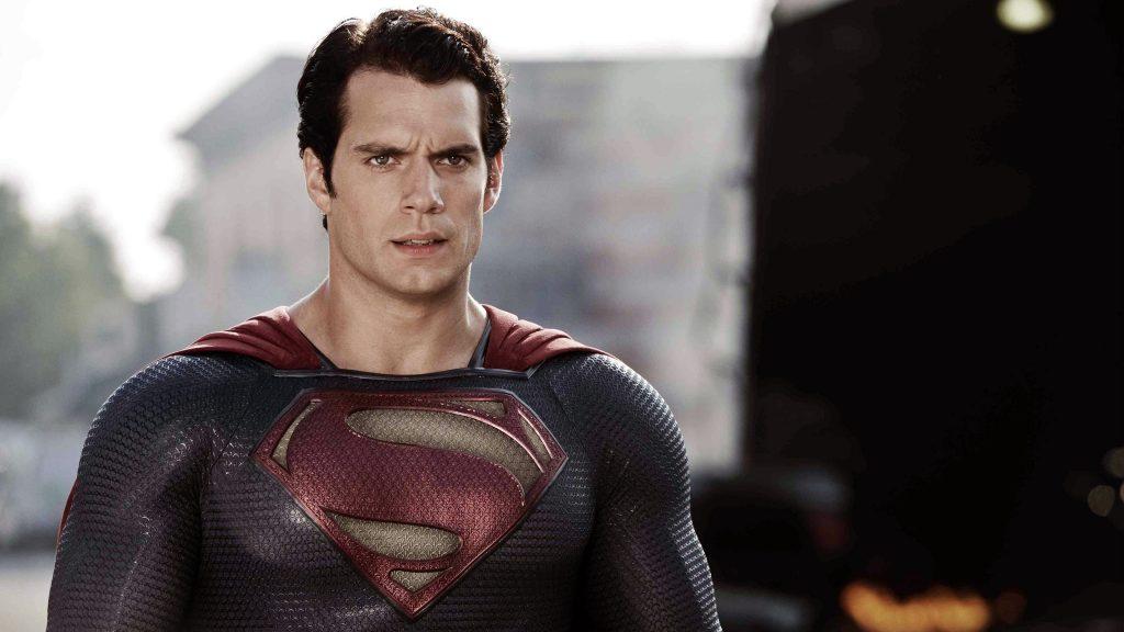 Генри кавилл супермен. обои скачать