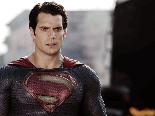 Генри кавилл супермен.
