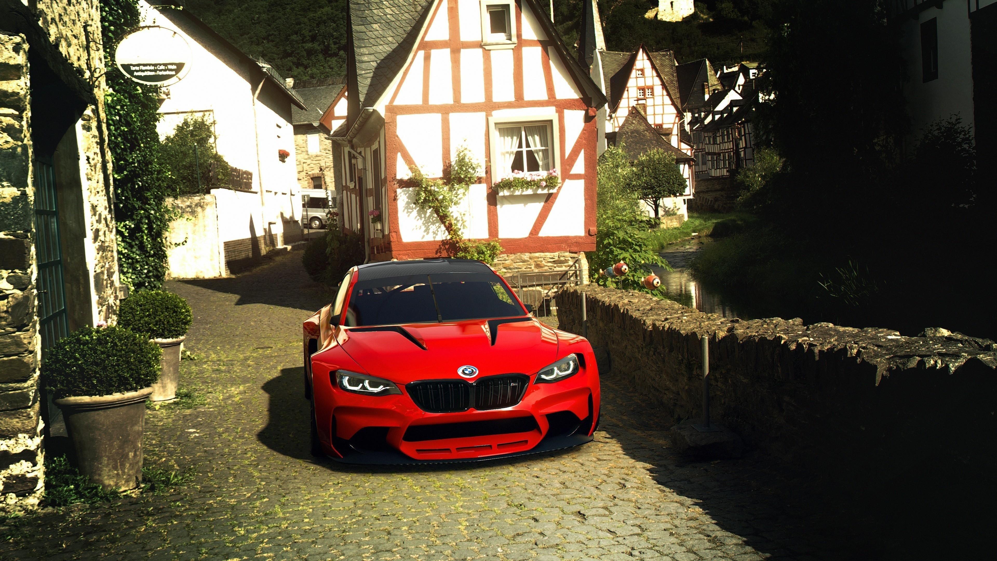 Bmw vision gran turismo 3 автомобиля обои скачать