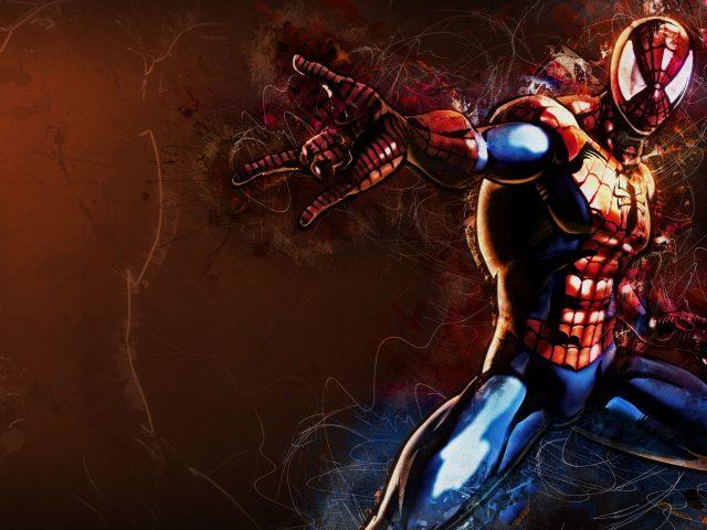 Человек-паук фан-арт