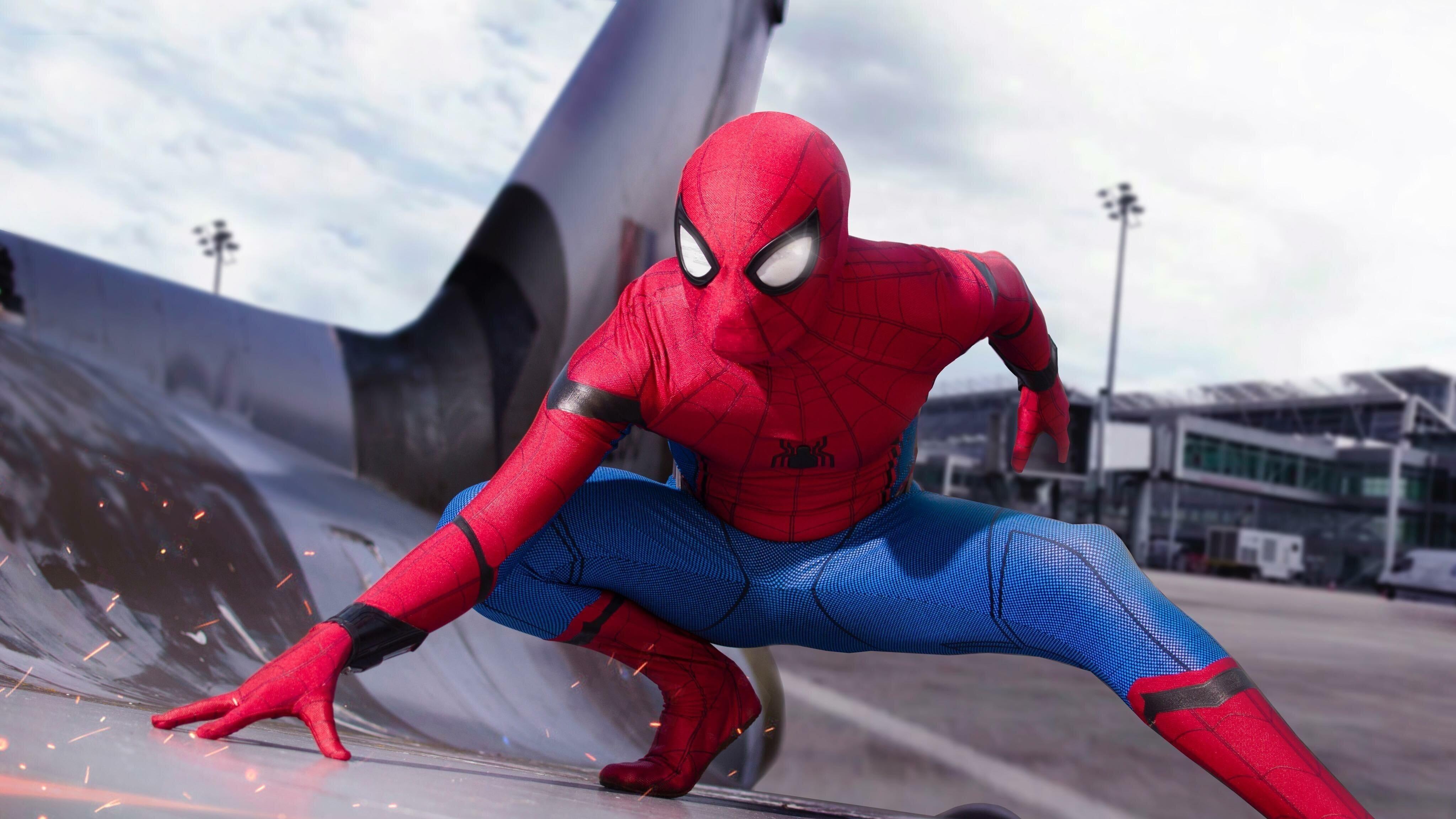 Человек-паук в гражданской войне обои скачать