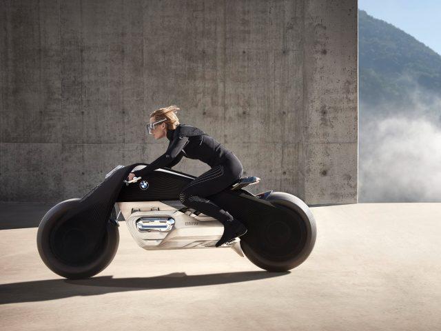 БМВ моторрад видение следующих 100 концепция велосипед.