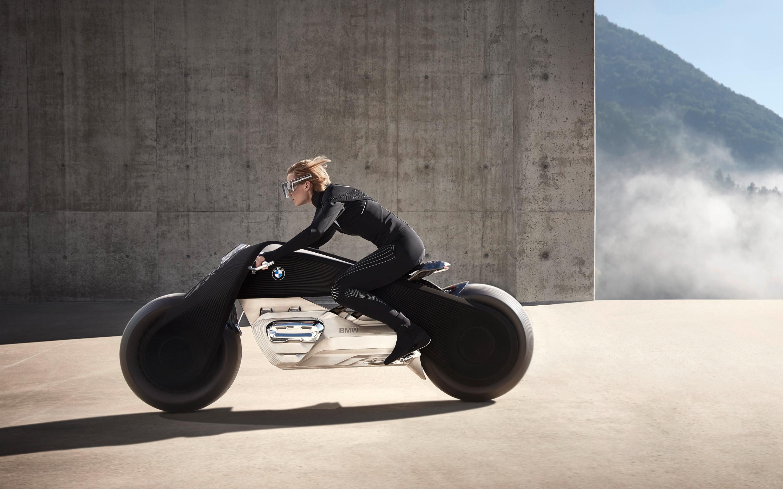 БМВ моторрад видение следующих 100 концепция велосипед. обои скачать