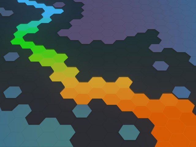 Абстрактный шестиугольник аннотация