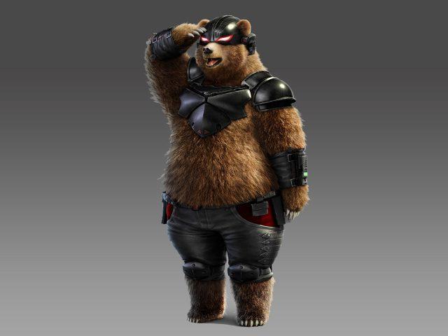 Теккен 7 медведь панда.