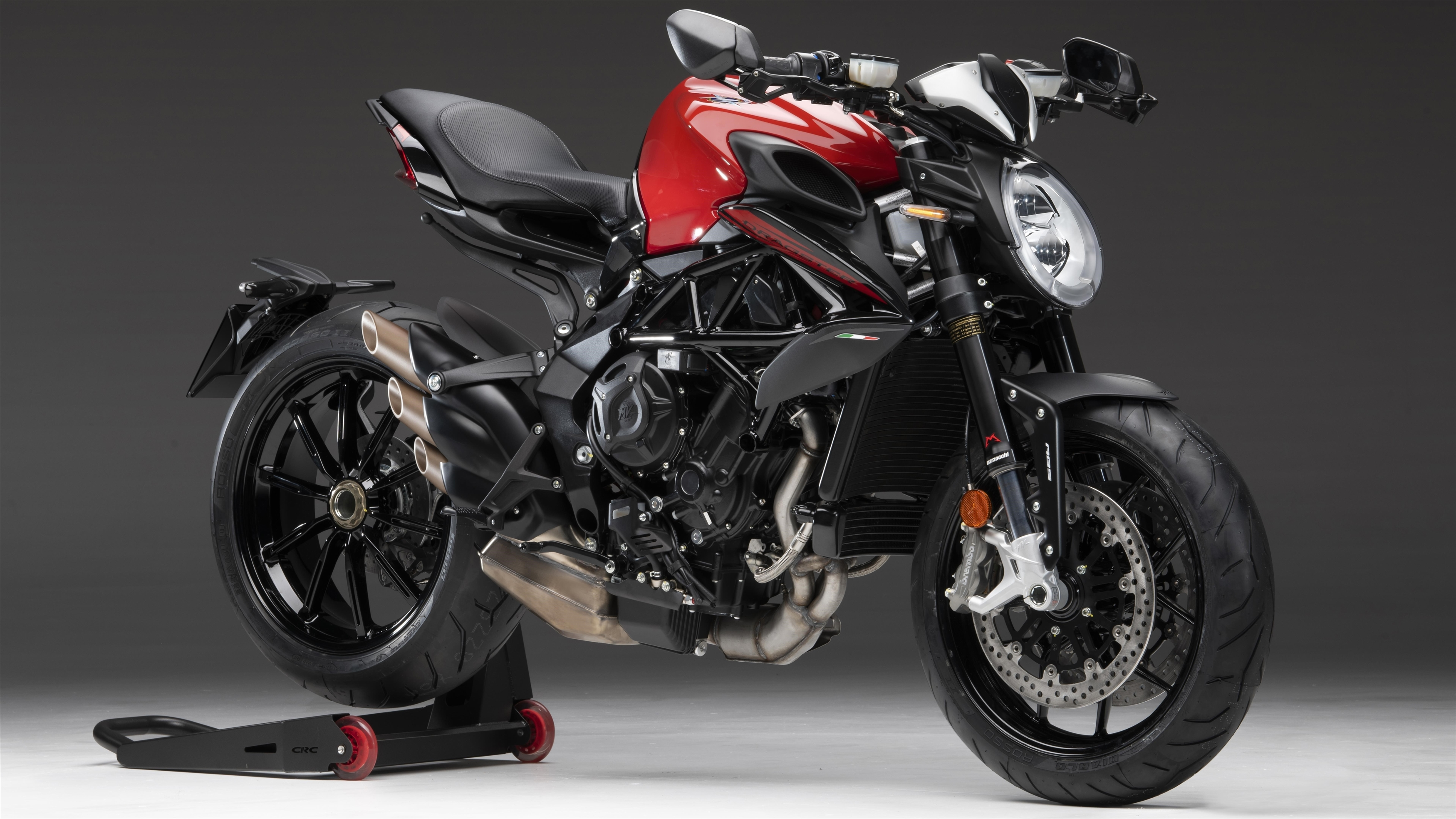 Mv agusta dragster 800 rosso 2020 обои скачать