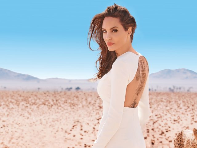 Angelina Jolie, Анжелина Джоли