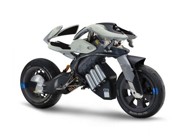 Футуристичный концепт Ямаха motoroid