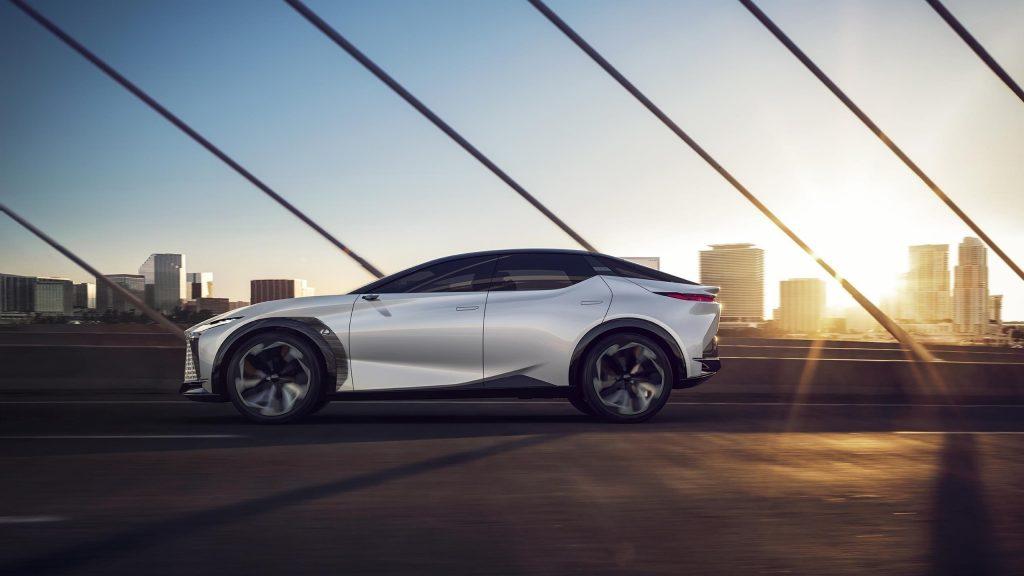 Lexus lf z электрифицированные автомобили 2021 года обои скачать