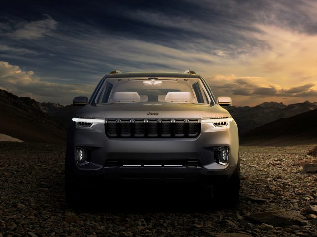 Jeep yuntu concept.