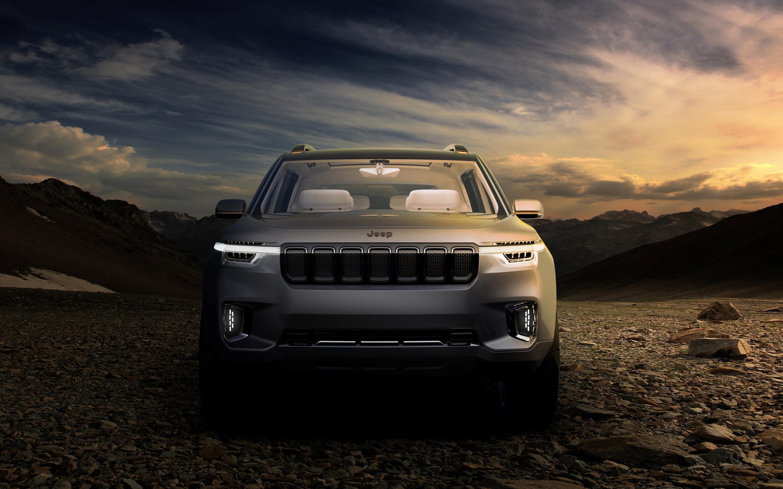Jeep yuntu concept. обои скачать