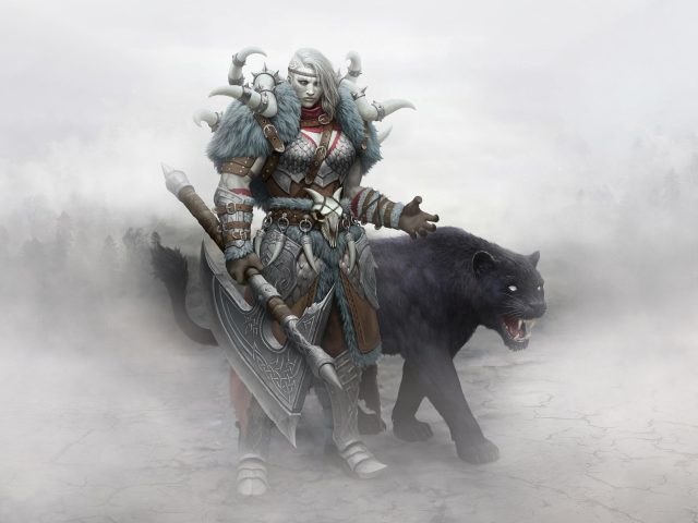 Зомби викинг воин