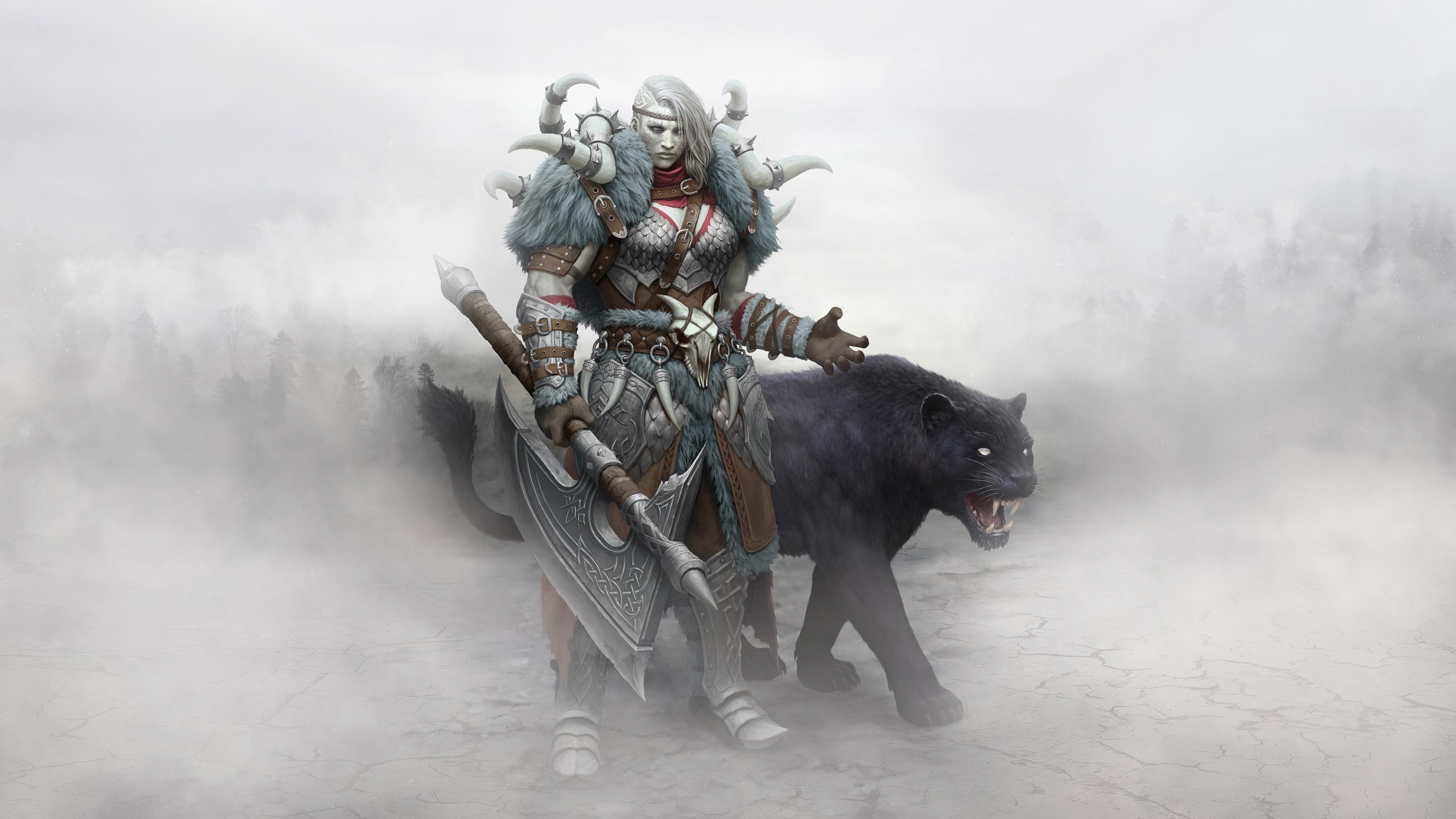 Зомби викинг воин обои скачать