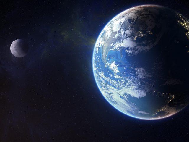 Планета Земля Луна