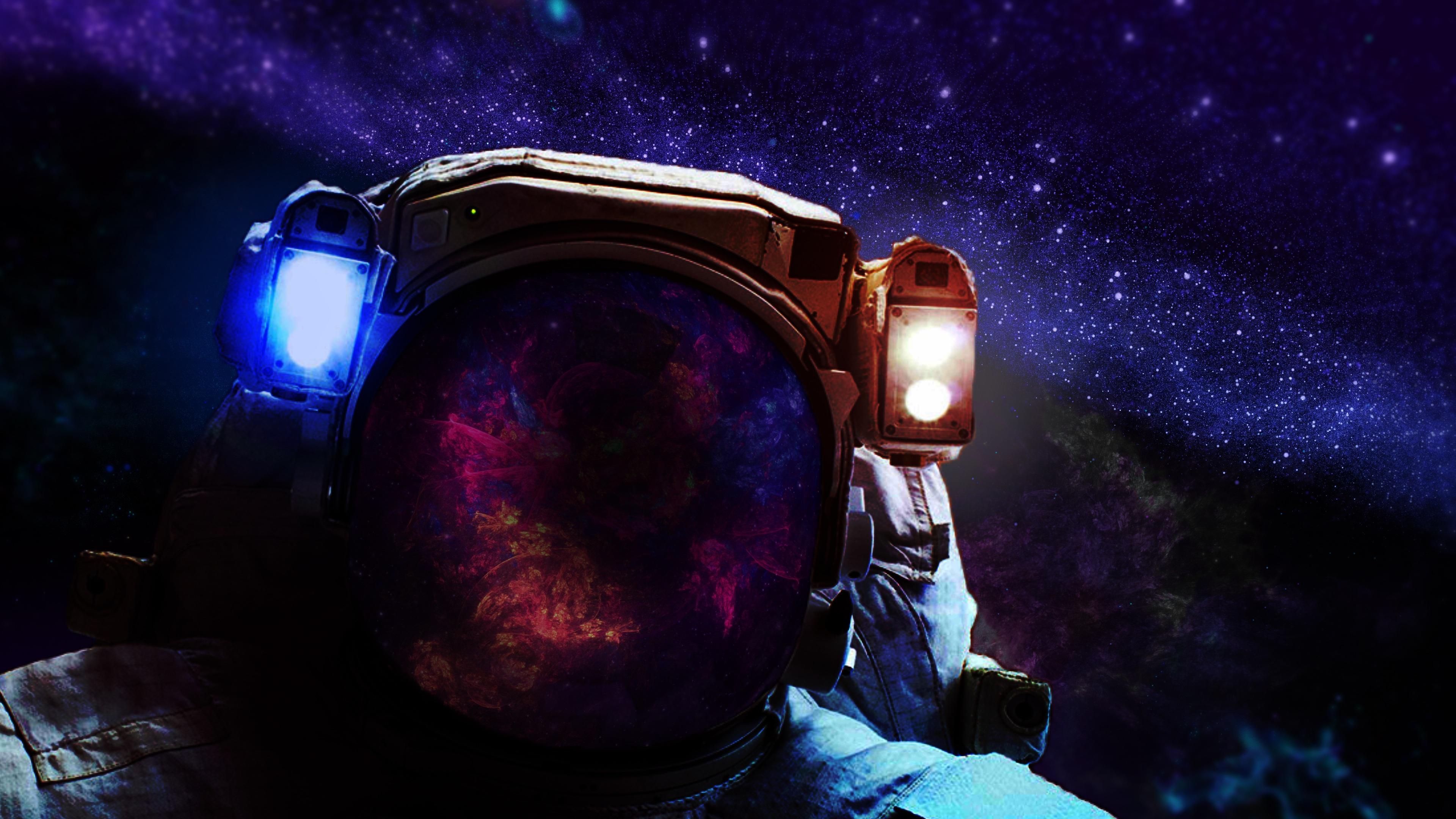 Скафандр космонавта обои скачать