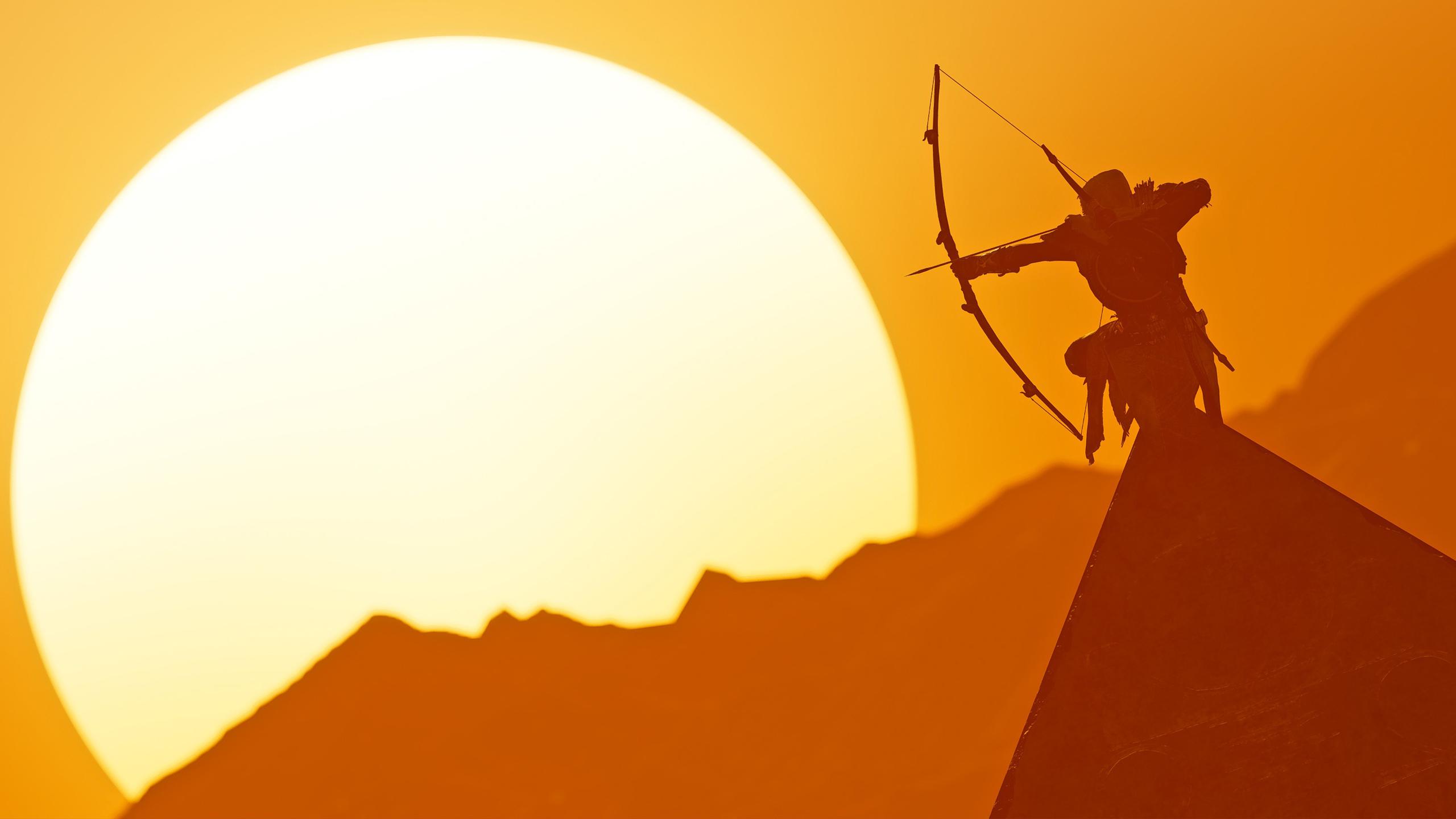 Assassins creed происхождение байек сива обои скачать