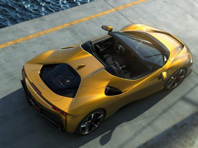 Ferrari sf90 spider 2021 автомобили