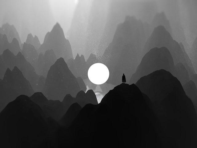 Одинокие горы тьмы