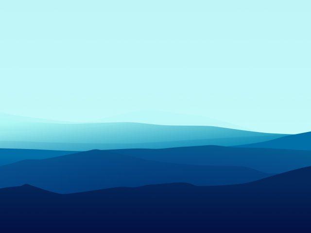 Минимальные голубые горы