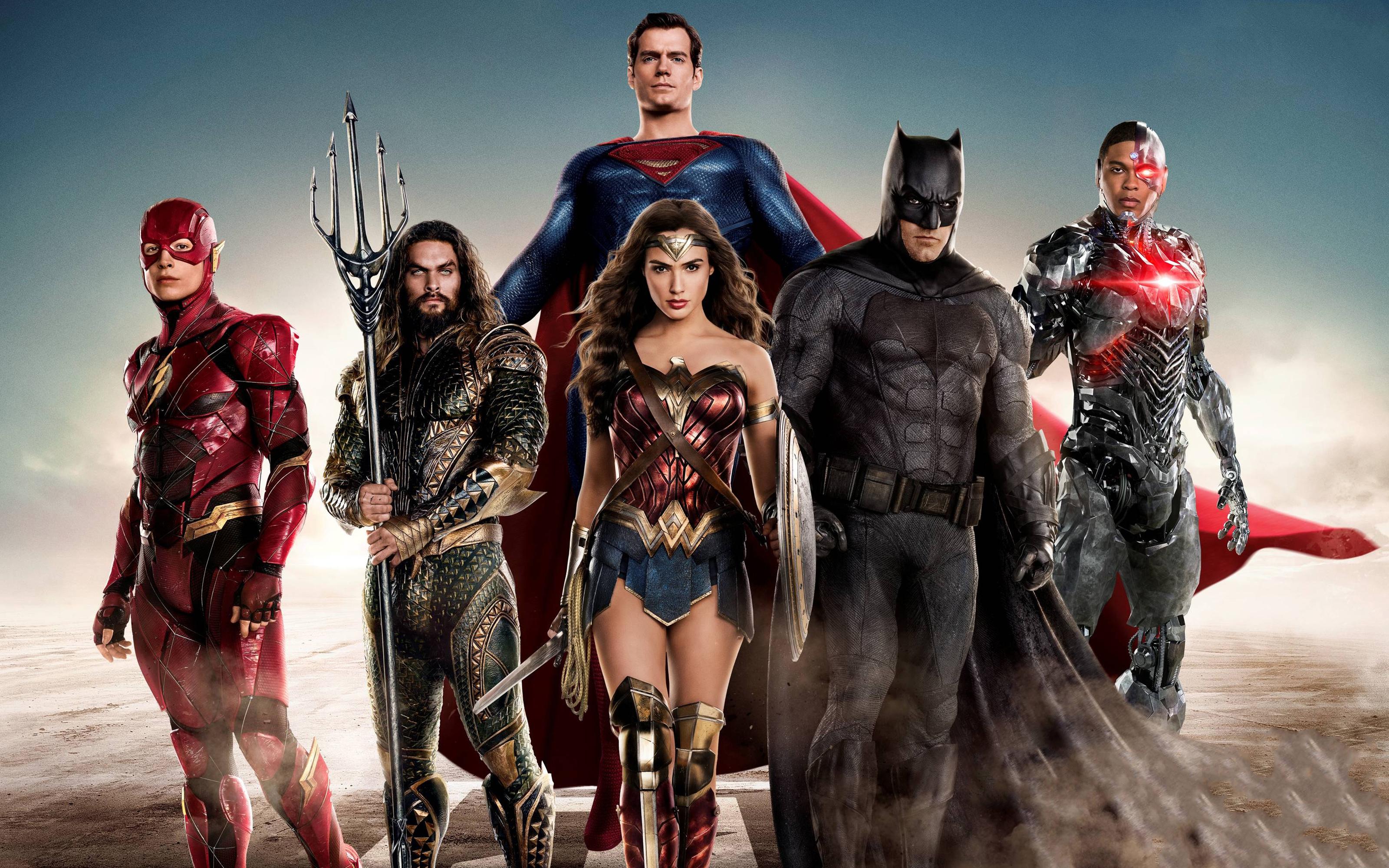 Лига справедливости DC комиксы супергероев обои скачать