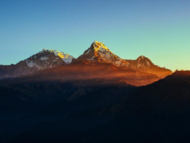 Гималайский горный хребет