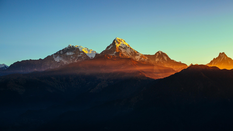 Гималайский горный хребет обои скачать