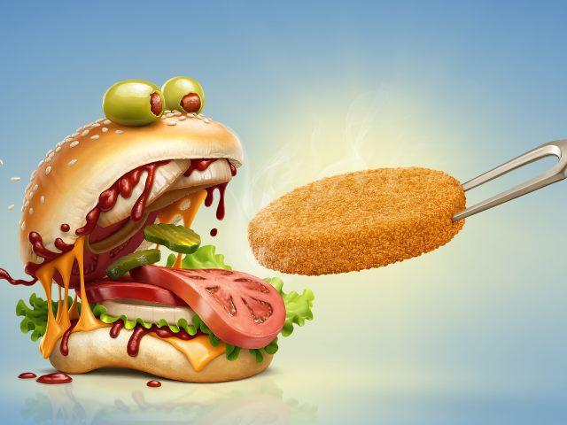 Бургер монстр