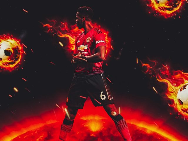Поль Погба Манчестер Юнайтед французский футболист