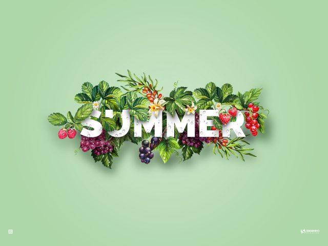 Лето.