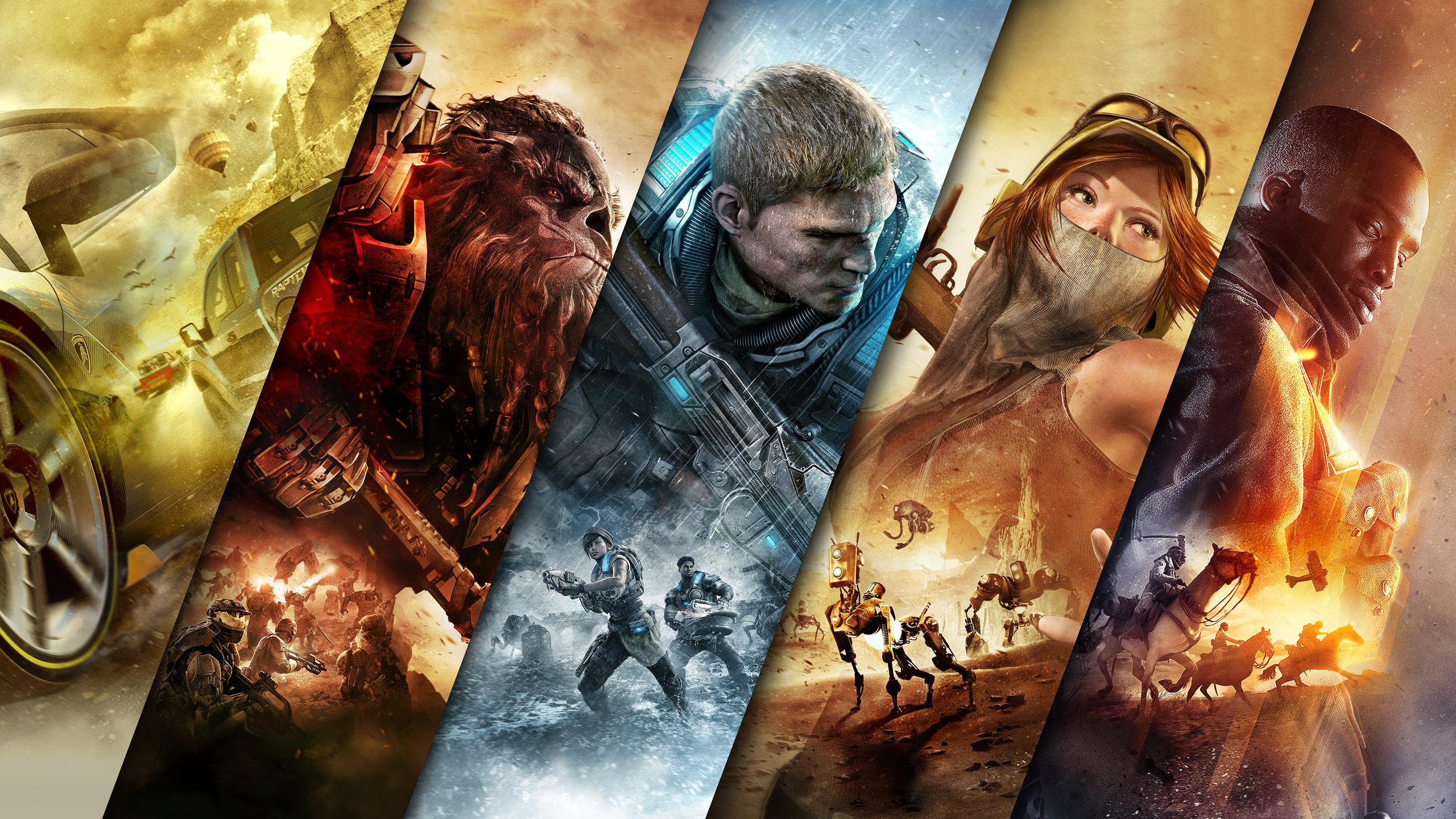Xbox Games Jump Ahead обои скачать