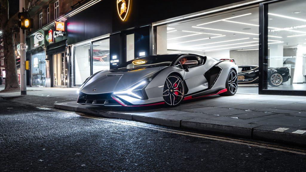 Lamborghini sian fkp 37 2021 3 автомобиля обои скачать