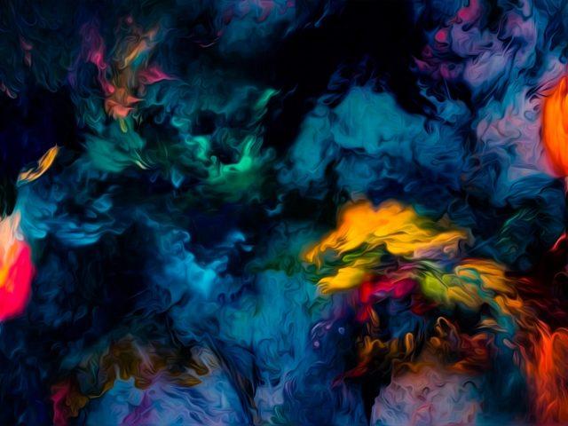 Полированные цвета волна абстракция