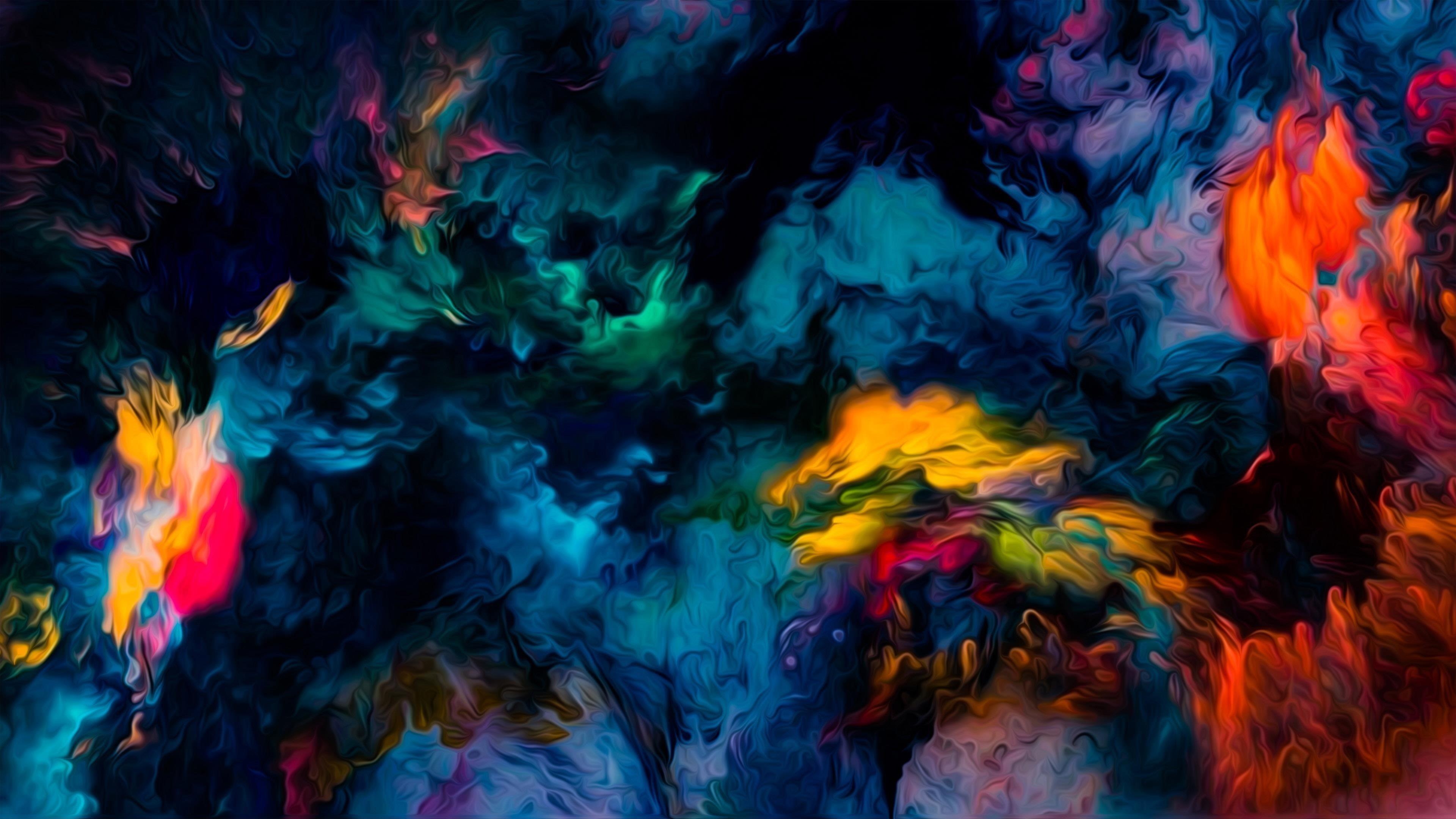 Полированные цвета волна абстракция обои скачать