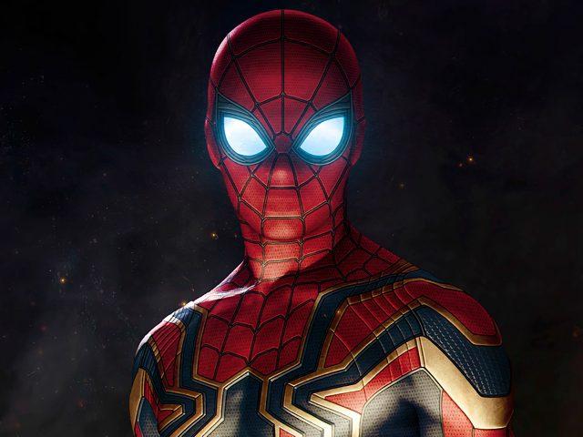 Человек паук в Мстители война бесконечности