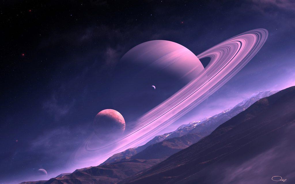 Сатурн сон. обои скачать