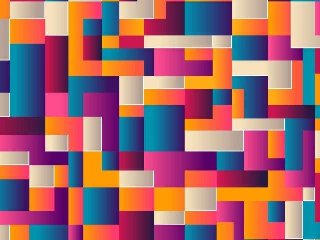 Красочные геометрические фигуры линии абстракция абстракция
