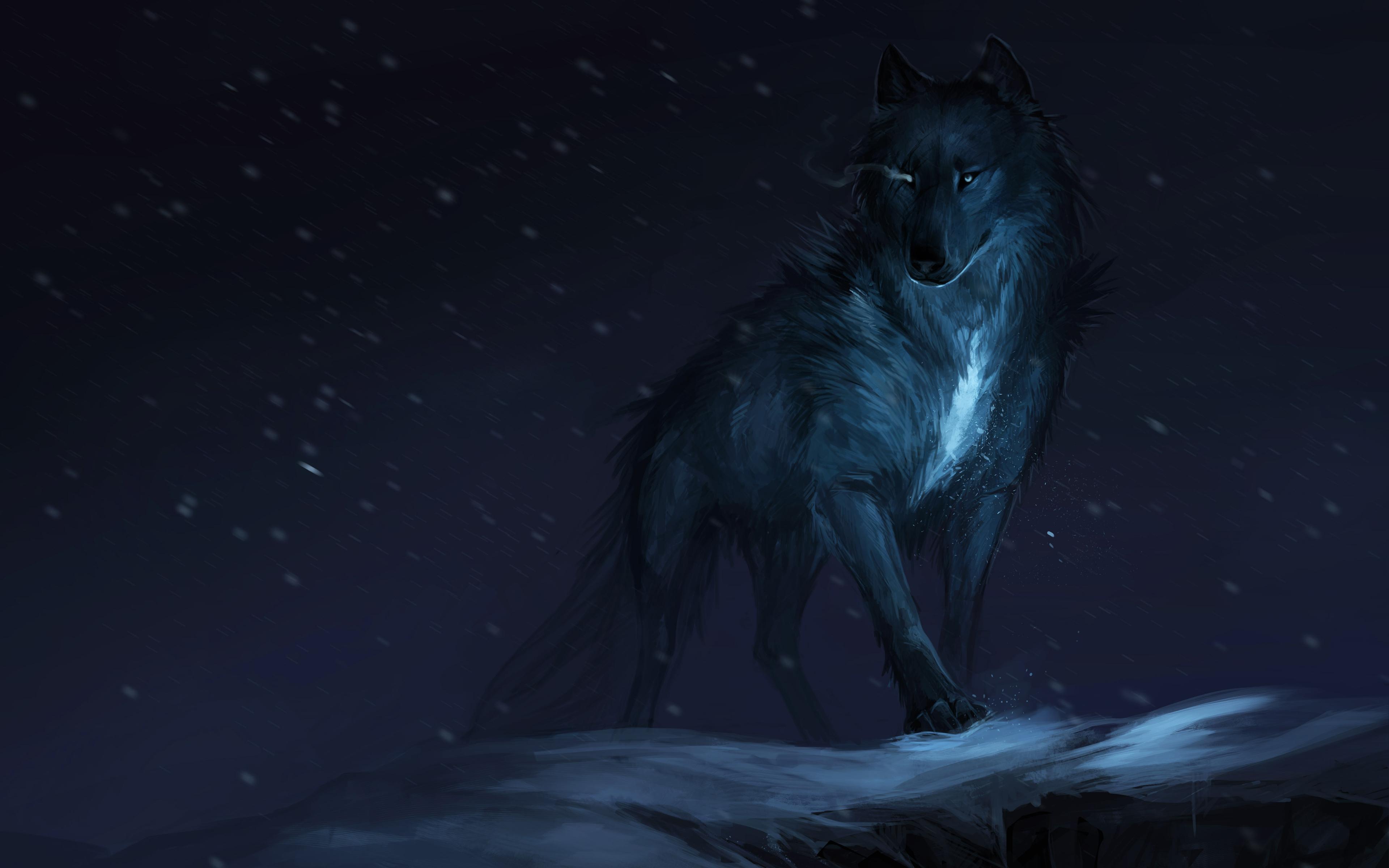 Cgi wolf обои скачать