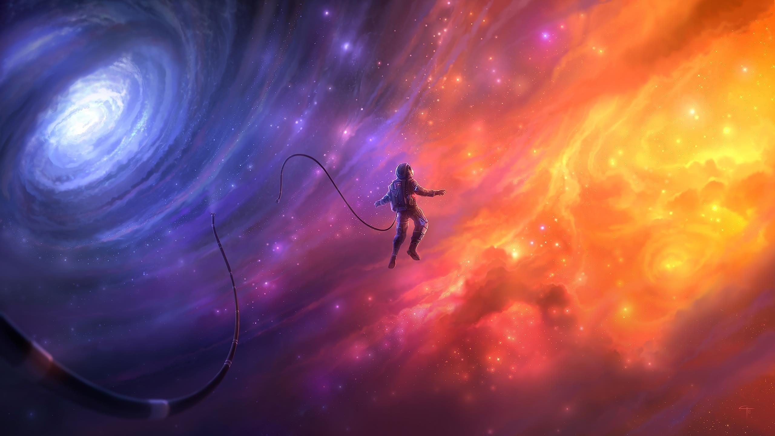 Мечта космонавта обои скачать